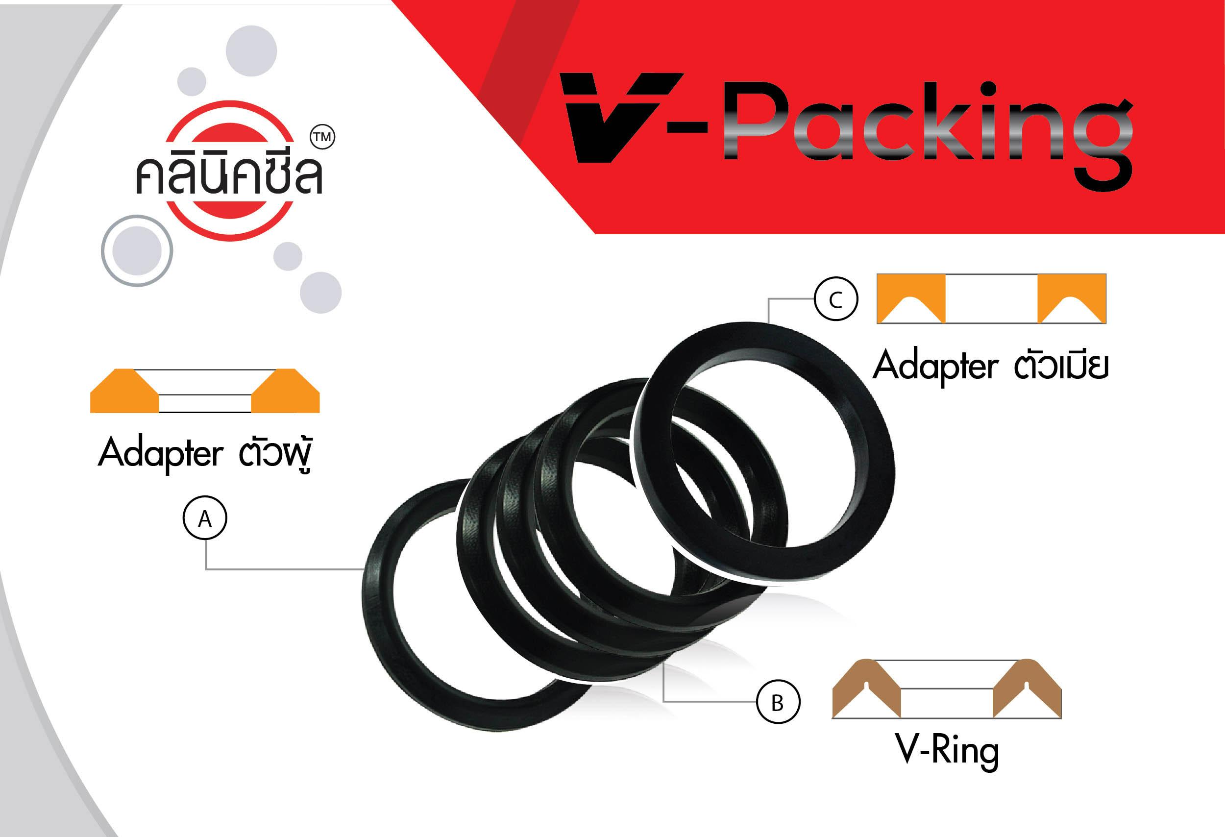 มาทำความรู้จักกับซีล V-Packing